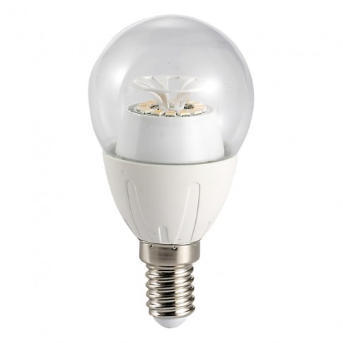 Bec LED Hoff clasic B45 E14 6W 540lm lumina rece 6500 K