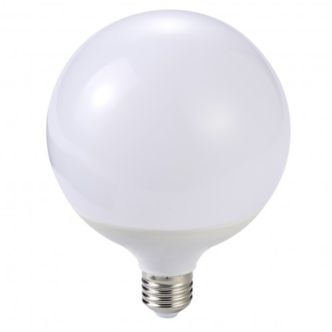 Bec LED Hoff glob E27 18W 1750lm lumina calda 3000 K