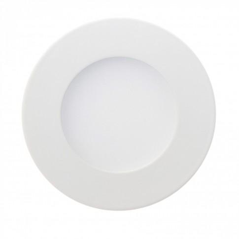 Spot LED incastrat Hoff, 2.4W, lumina neutra, alb, D85 mm