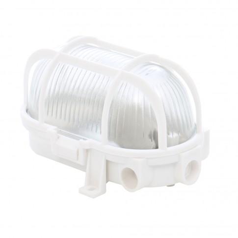 Aplica ovala Hoff 1 x E27 (max. 60W) grilaj plastic