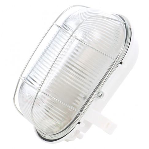 Aplica ovala Hoff 1 x E27 (max. 100W) grilaj metalic