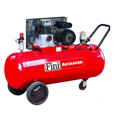 Compresor aer cu piston, cu ulei, Fini MK 103-150-3 , 2.2 Kw, 50 litri