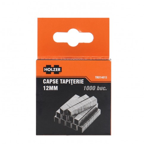 Capse tapiterie, 12 mm, Holzer TRO14015, set 1000 bucati