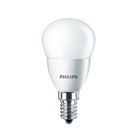 Bec LED Philips mini P45 E14 5.5W 470lm lumina calda 2700 K