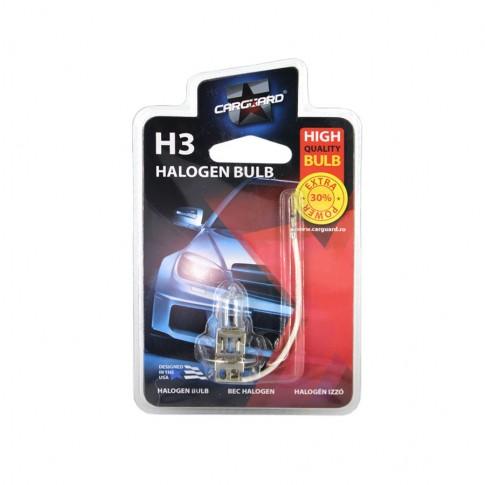 Bec auto halogen Carguard H3, BHA002, 55 W, 12 V