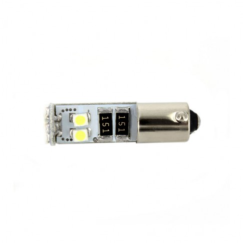 Bec LED SMD de pozitie Canbus Carguard CAN101, BA9S, 3 W, 12 V, set 2 bucati