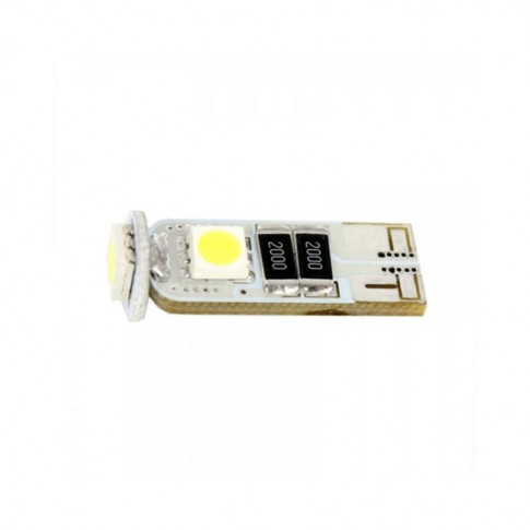 Bec LED SMD de pozitie Canbus Carguard CAN104, T10, 3 W, 12 V, set 2 bucati