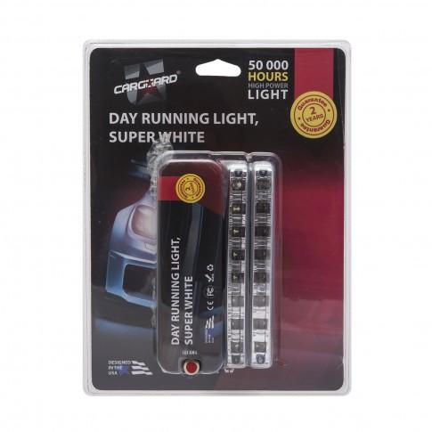 Lumini LED de zi Carguard DLA001, 8 W, 12 V, set 2 bucati