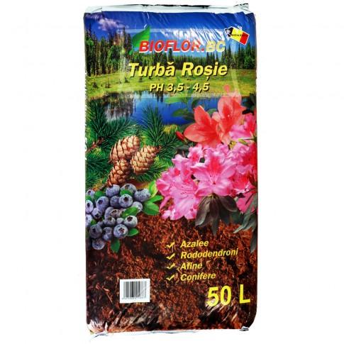 Turba rosie Bioflor 50 l