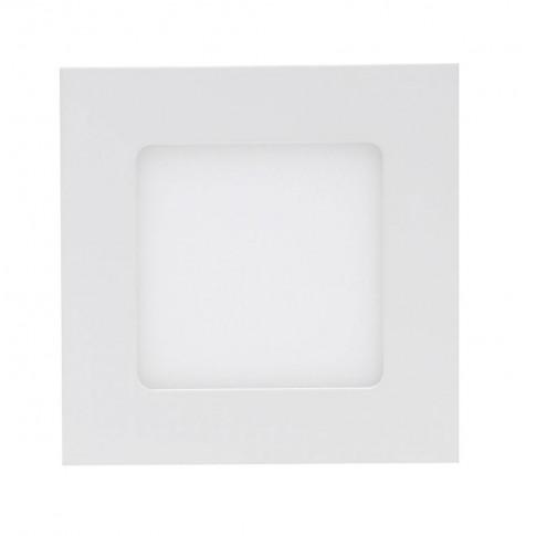 Spot LED incastrat Hoff, 7.8W, lumina neutra, 150 x 150 mm