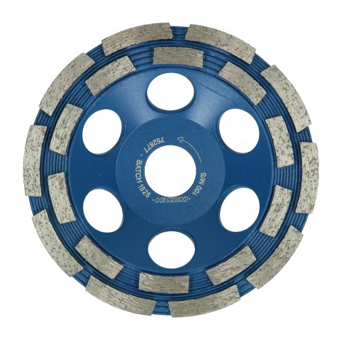 Disc diamantat, cu segmente, pentru slefuire, Hikoki 752877, 125 x 22.2 x 5 mm