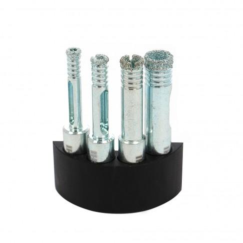 Set carote 5/6/8/10 mm, Hikoki 4100519  + rezervor apa