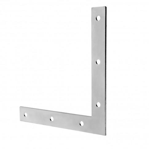 Vinclu de imbinare, pentru mobila, plat, din otel zincat, 75 x 75 x 12 mm