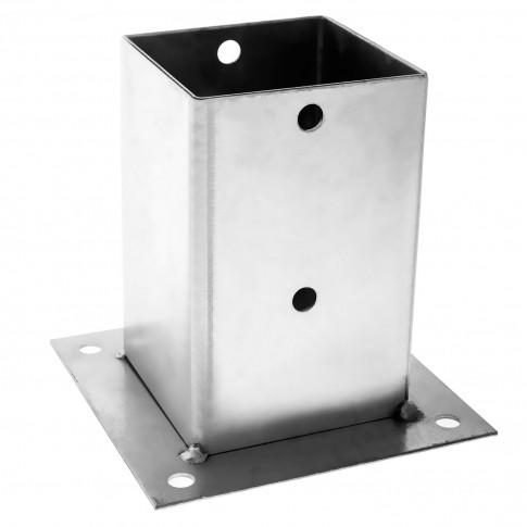 Camasuiala din tabla de otel zincat, 141 x 141 x 150 mm