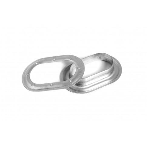 Capse ovale, pentru prelate, 42 mm, blister 6 bucati