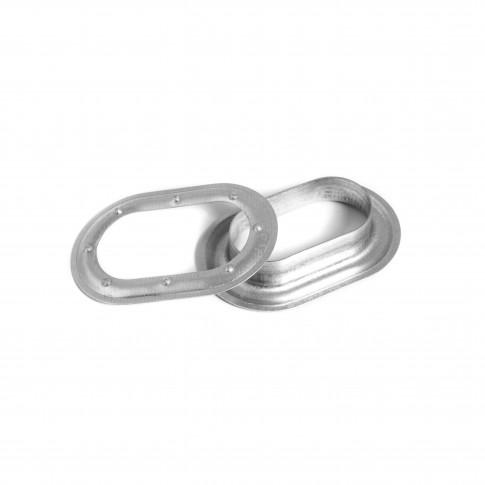 Capse ovale, pentru prelate, 42 mm, cutie 100 bucati