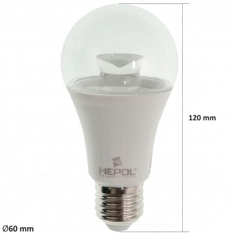 Bec LED Hepol clasic A60 E27 5W 470lm lumina calda 3000 K