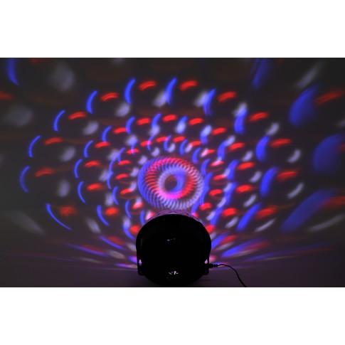 Glob disco LED Hoff Light and Music, MP3 Player, cu telecomanda