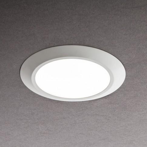 Spot LED incastrat MT 138 70355, 7W, lumina calda, IP44, alb mat