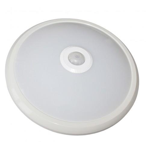 Plafoniera LED cu senzor 5948670000000, 12W, lumina neutra 4000 K, IP20