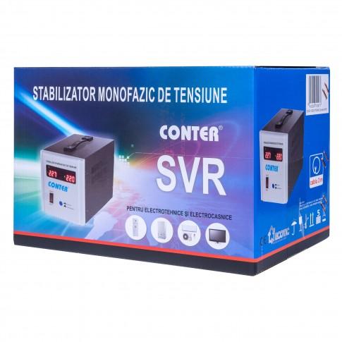 Stabilizator de tensiune cu releu Conter AVR SVR 1000VA / 750W