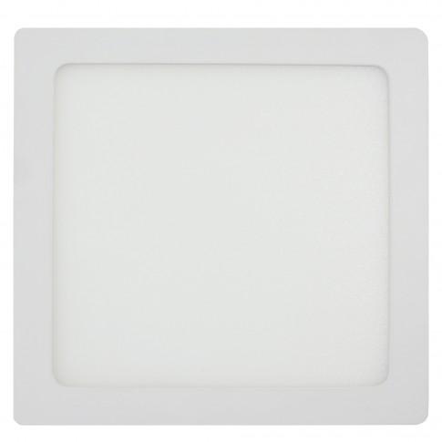 Spot LED aparent Hepol 24W patrat 30 cm lumina neutra