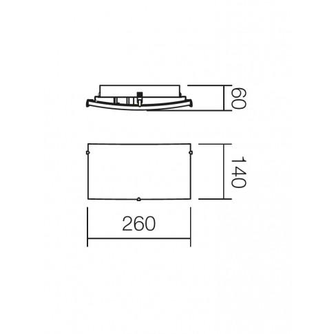 Aplica Notes 05-816, 1 x E27, alba