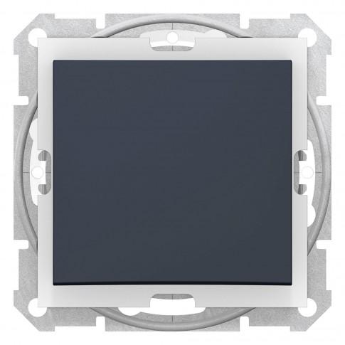 Intrerupator cap cruce Sedna SDN0500370, incastrat, grafit