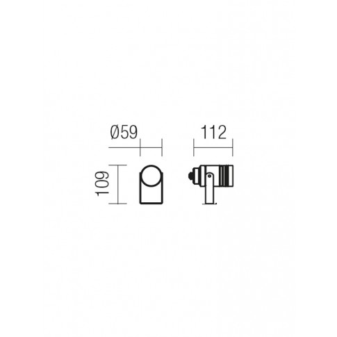 Proiector Spoty DG 9133, 1 x GU10