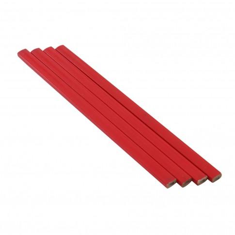 Set 4 creioane de tamplarie, 18 cm