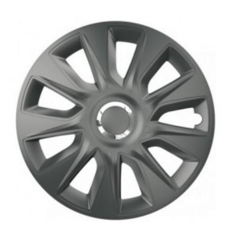 Capace roti auto, Carmax Stratos RC, graphite, 14 inch, set 4 piese