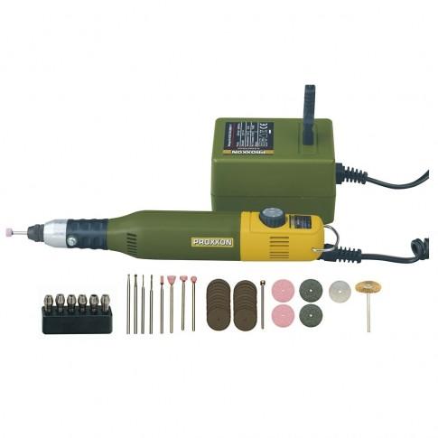 Masina de gaurit / frezat Proxxon Micromot 50/E, 40 W + accesorii