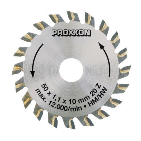 Disc circular, pentru lemn, Proxxon KS230, 50 x 10 x 1.1 mm
