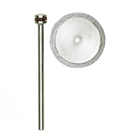 Disc diamantat, pentru debitare metale neferoase / ceramica / sticla, Proxxon 28840, 20 mm