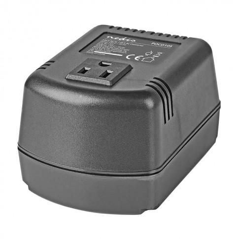 Convertor de tensiune Nedis, 220V - 110V, 100W