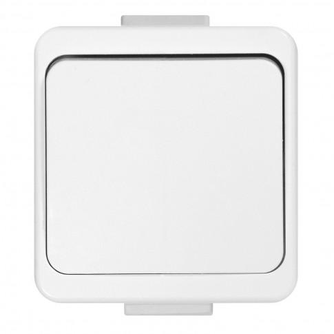 Buton cu revenire Smart WNT-6/7S, alb
