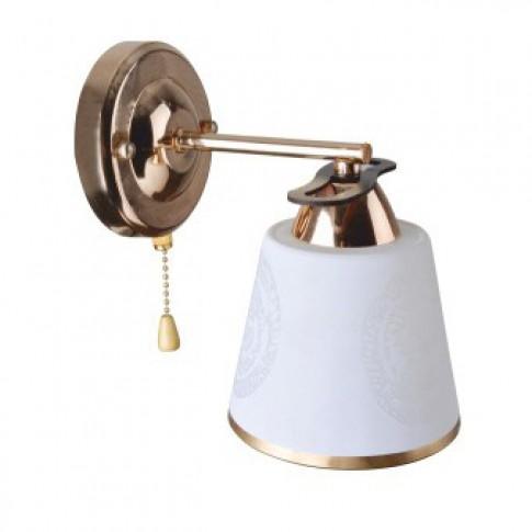 Aplica Cup LY3079, 1 x E27, auriu + maro + alb