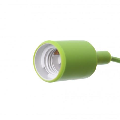 Suspensie Silicone LY 6047, 1 x E27, verde