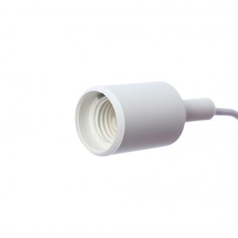 Suspensie Silicone LY 6049, 1 x E27, alba