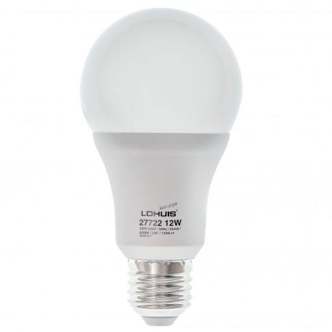 Bec LED Lohuis clasic A65 E27 12W 1200lm lumina rece 6500 K, dimabil