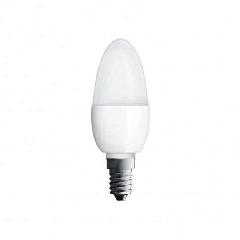 Bec LED Osram lumanare B E14 5W 470lm lumina rece 6500 K