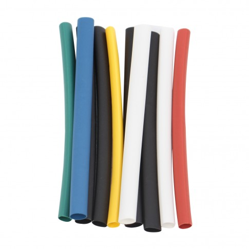 Tub TTU pentru izolatie conductori IEK UDRS, D3 - D6 mm, set 10 bucati x 100 mm