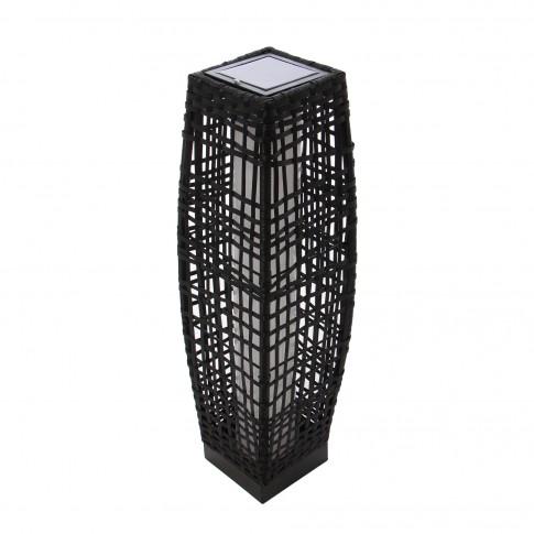 Lampa solara LED Hoff, ratan, 69 cm