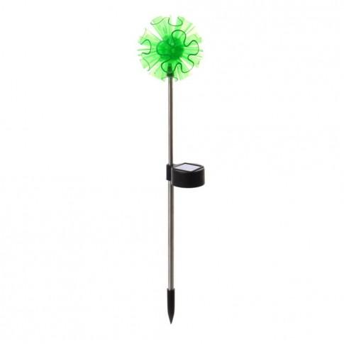 Lampa solara LED Hoff, floare, metal, plastic, H 41 cm