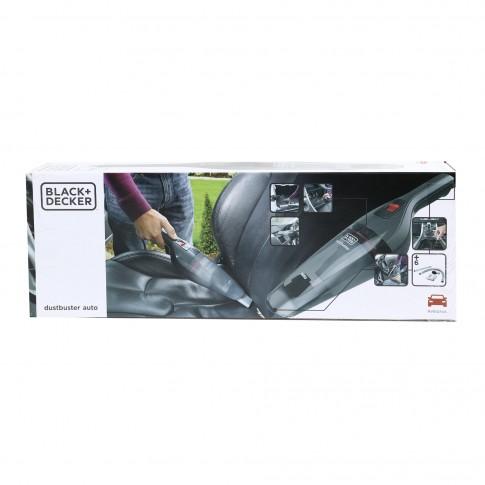 Aspirator auto Black&Decker EPP NVB12AVA + tub flexibil + alimentare + rezervor transparent + autonomie