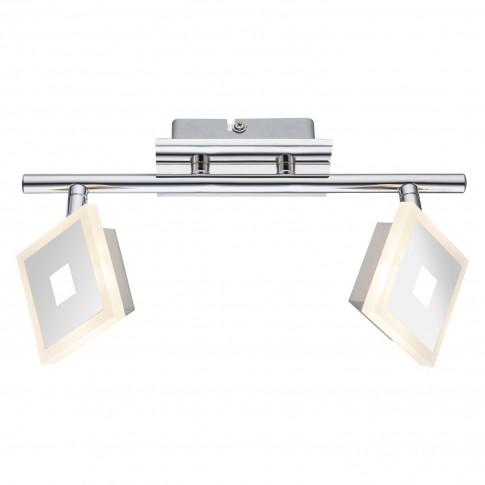 Plafoniera LED Gerolf 56111-2, 2 x 5W, argintie