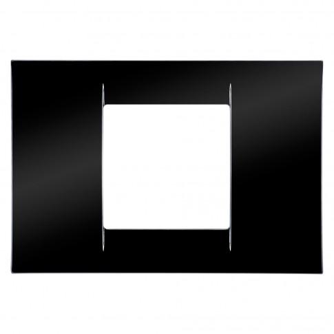 Rama Virna, 2 module, toner Gewiss GW22112-CONS, negru