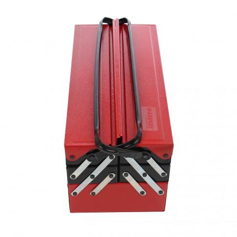 Trusa de scule pentru instalatori Kronus  7616644D, 5 compartimente