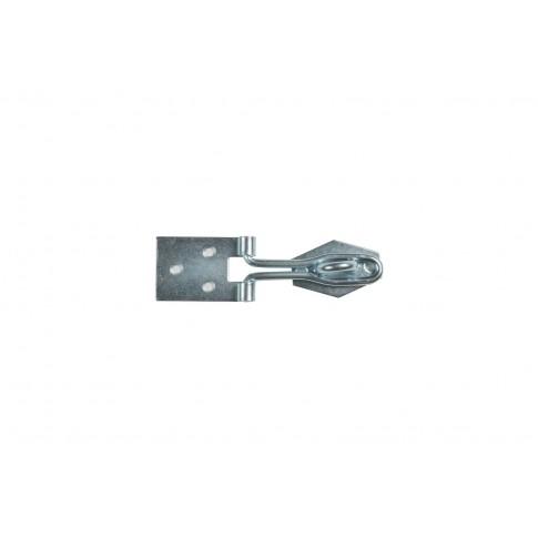 Incuietoare pentru lada, din tabla zincata, 80 x 22 mm