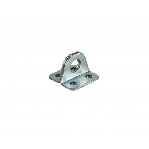 Accesoriu zavor,  tabla zincata, 35 x 25 mm, D 11 mm